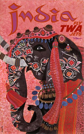 TWA India (Pink)