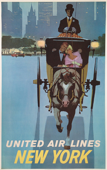 United Airlines New York (Carriage Ride)