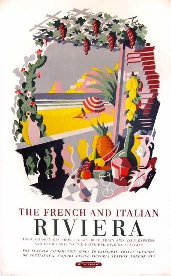 The French and Italian Riviera