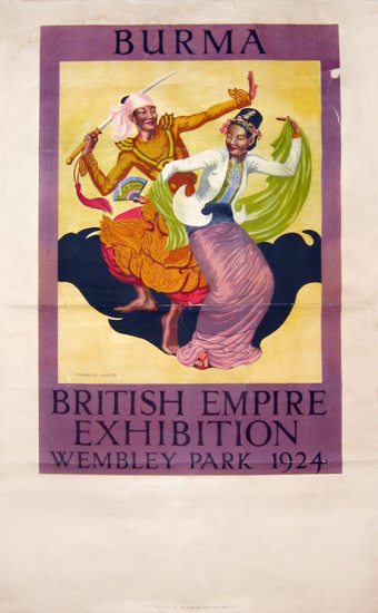 British Empire Exhibition 1924 - Burma