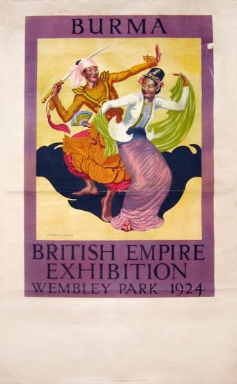 British Empire Exhibition 1924 - Burma