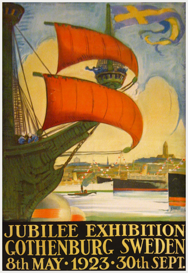 Jubilee Exhibition Gothenburg Sweden