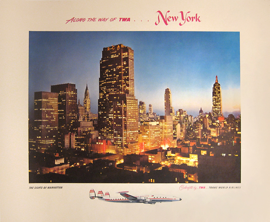TWA - New York Colorfoto