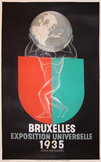 Bruxelles Exposition Universelle