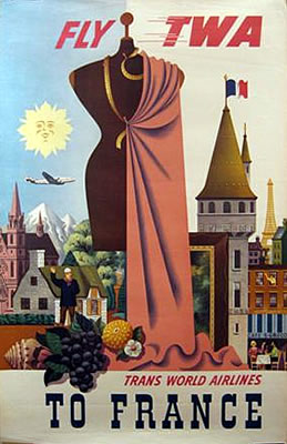 TWA - To France