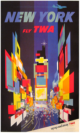 TWA New York (Times Square /Up Up and Away)
