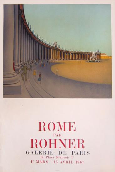 Rome par Rohner - Galerie de Paris