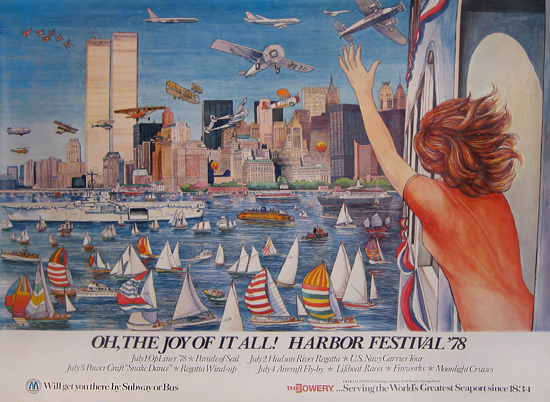 NYC Harbor Festival 1978 - Oh, The Joy of it All