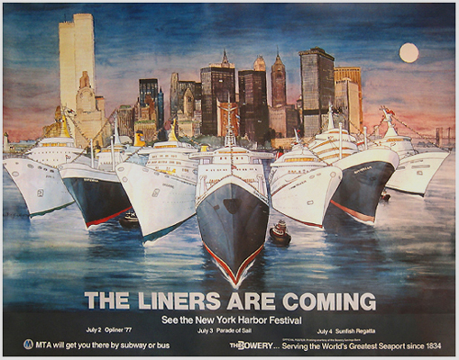 NYC Harbor Festival - The Liners are Coming