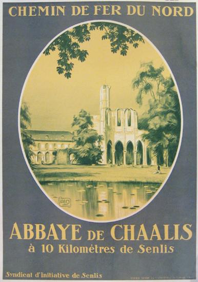 Chemin de Fer du Nord Abbaye de Chaalis