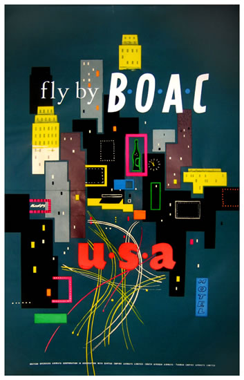 BOAC USA (New York Times Square Scene)