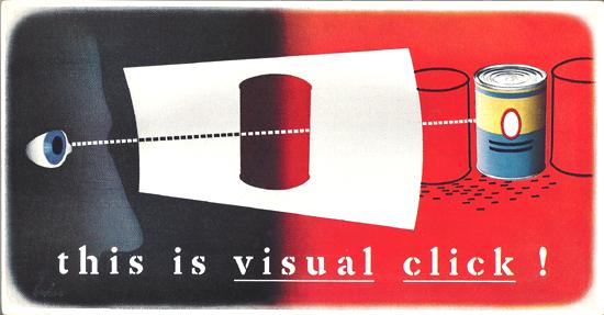 Mini Subway Car Card <br>No. 22 - This Is Visual Click