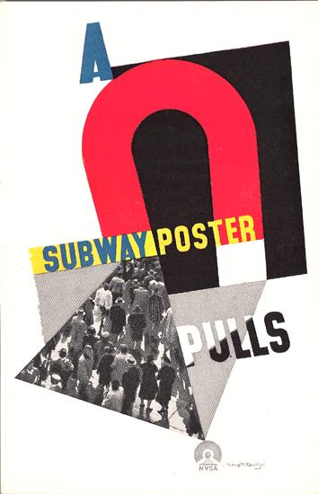 Mini Subway Poster Card <br> A Subway Poster Pulls