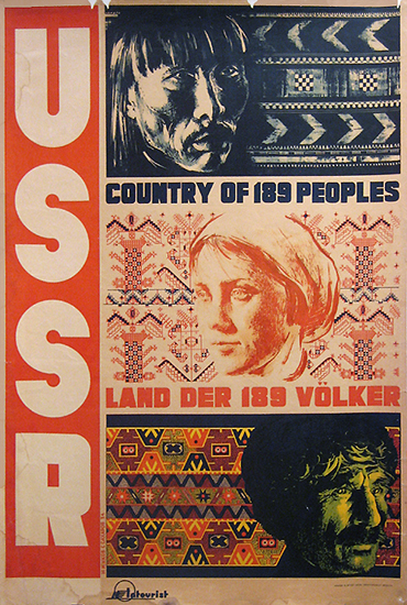 USSR - Country of 189 Peoples