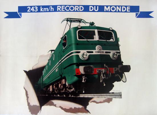 SNCF - Record du Monde
