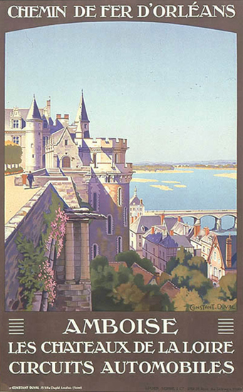 Amboise Chemin De Fer D'Orleans