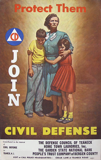 Civil Defense - Mother and Children