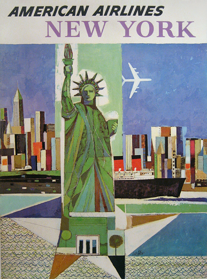 American Airlines New York (Statue of Liberty)