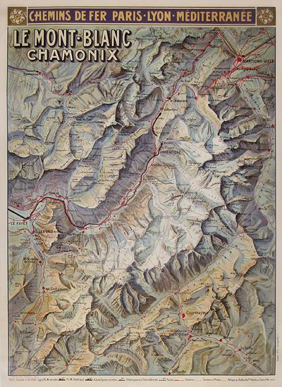 Le Mont Blanc - Chamonix