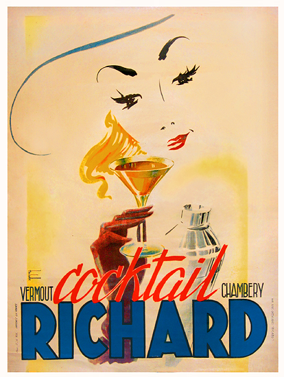 Cocktail Richard (Vermouth de Chambery)