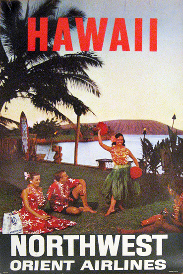 Northwest Airlines - Hawaii