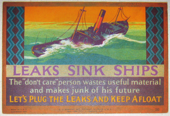 Mather Series: Link Sink Ships