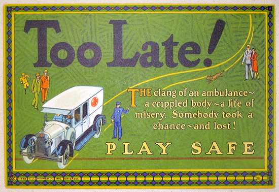 Mather Series: Too Late!