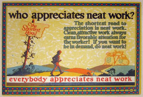 Mather Series: Who Appreciates Neat Work