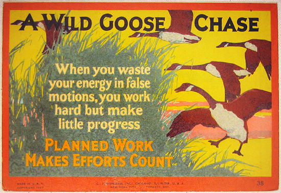 Mather Series: Wild Goose Chase