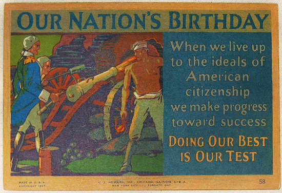 Mather Series: Our Nations Birthday