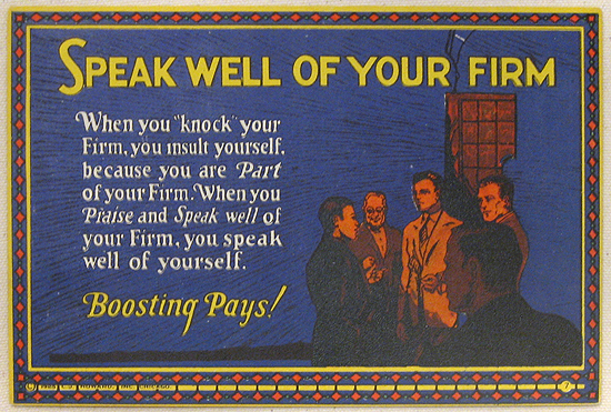 Mather Series: Speak Well of Your Firm