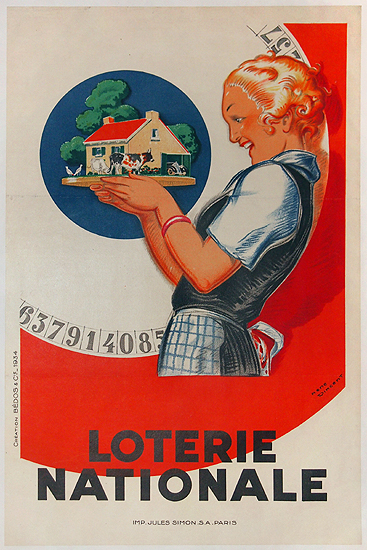 Loterie Nationale (Real Estate Girl - Small)