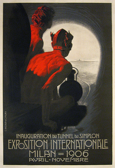 Exposition Internationale Milan 1906 (Variant)