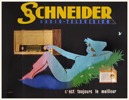 Schneider Radio Television (Recliner Horizontal)