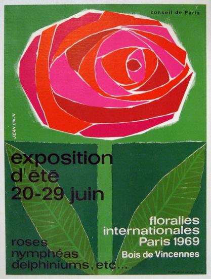 Floralies Internationales Exposition d'Ete LARGE (Rose)