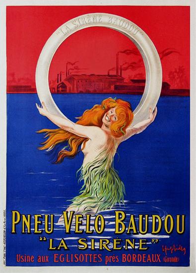 Pneu Velo Baudou - La Sirene