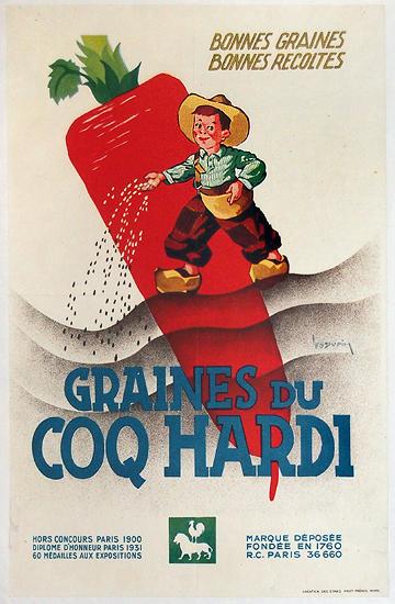 Graines du Coq Hardi (Boy/Carrot)