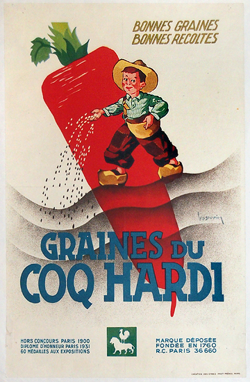 Graines du Coq Hardi (Boy/Carrot)