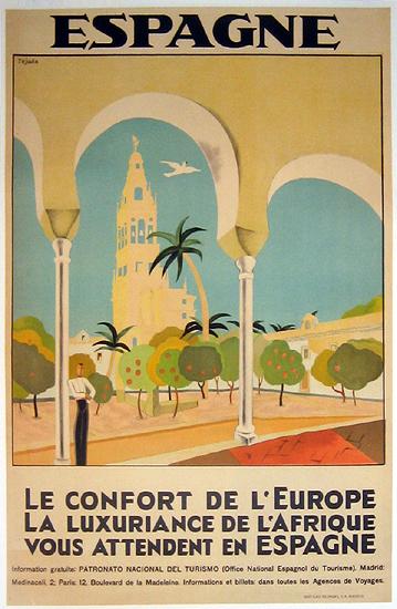 Espagne L' Comfort de L'Europe.