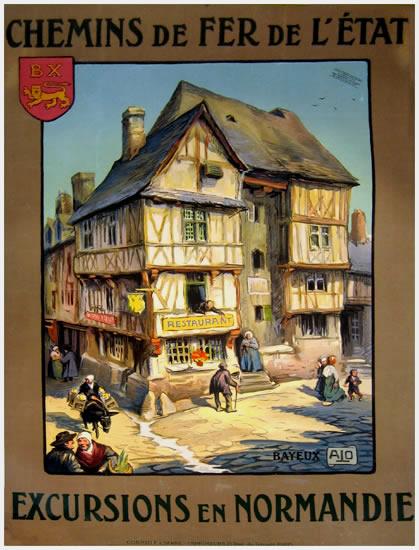 PLM, chemins de fer franais Affiches vintage affiches