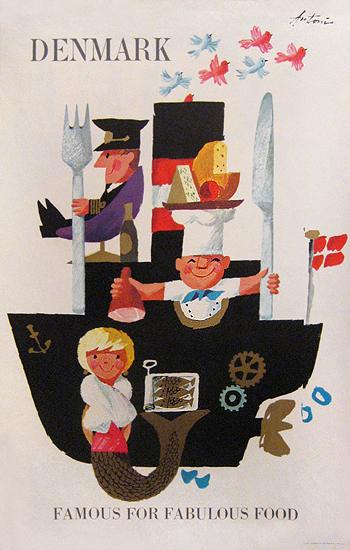 Denmark Famous for Fabulous Food