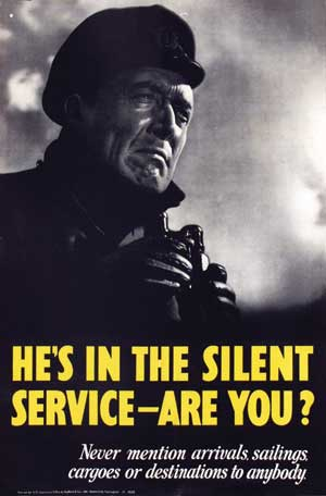 He's in the Silent Service - Are You?