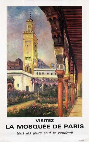 Visitez La Mosquée de Paris
