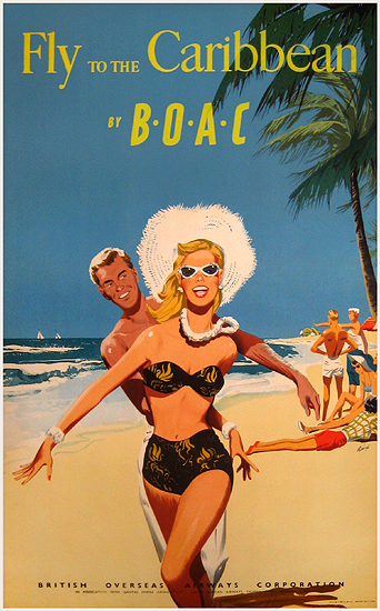 BOAC Fly to the Caribbean