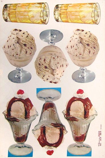 American Die Cut - Ice Cream Assortment