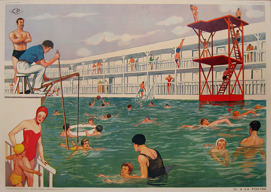 La Piscine (The Swimming Pool)