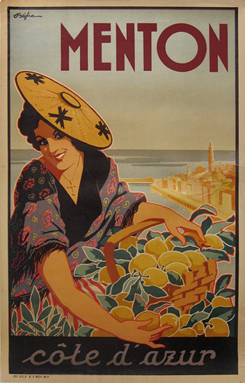 Menton (Woman in Hat)