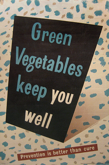 Green Vegetables Keep You Well