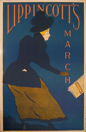 Lippincott's - March (Dark Blue Jacket)