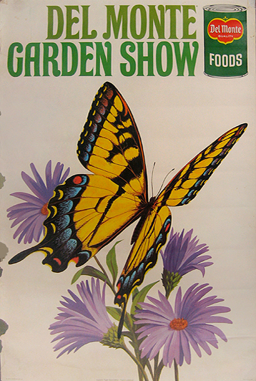 Del Monte Garden Show (Yellow Butterfly)